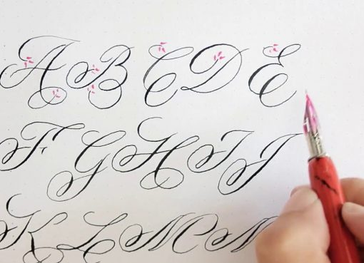 The adults can also improve their writing style through calligraphy